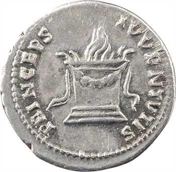 Domitien César, denier, Rome, 80-81 (frappé sous Titus)