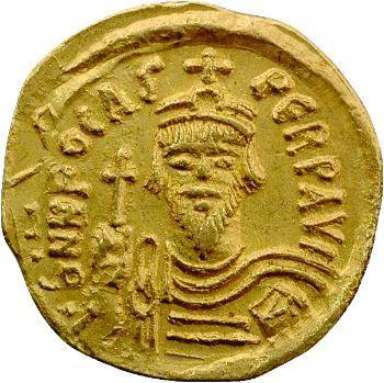 Phocas, solidus, Constantinople, 606-607
