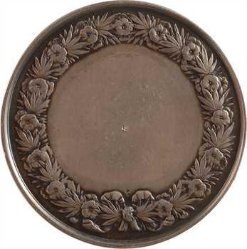 Louis-Philippe Ier, médaille de mariage vierge, par Domard, 1847 (post.) Paris