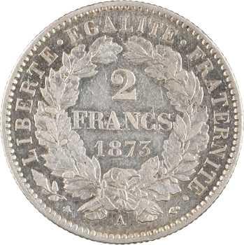 IIIe République, 2 francs Cérès, 1873 Paris