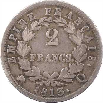 Premier Empire, 2 francs Empire, 1813 Perpignan