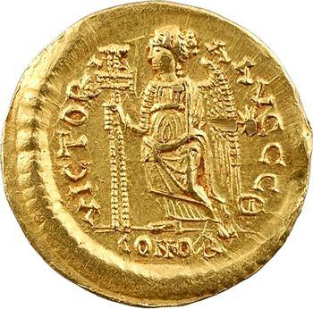 Zénon, solidus, Constantinople, 9e officine, 476-491