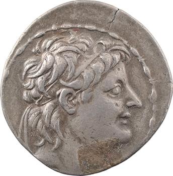 Syrie, Alexandre II Zebina, tétradrachme, Antioche, 128-123 av. J.-C