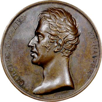 Charles X, maintien de la Charte, 1824