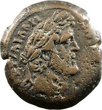 Antonin le Pieux, drachme, Alexandrie, 158-159 (An 22)