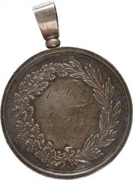 Suisse, Genève, prix de la Société des Arts, par Wielandi, 1820