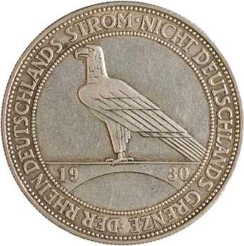 Allemagne (Empire d'), 5 reichsmark, 1930 Munich