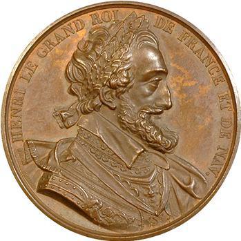 Henri V (Comte de Chambord) et Henri IV par Durand, s.d. Paris