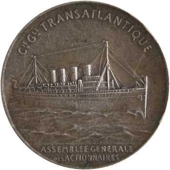 Compagnie Générale Transatlantique, Assemblée générale des actionnaires, par Patriarche, s.d. Paris
