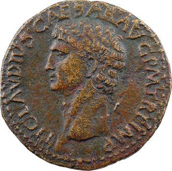 Claude, dupondius, Rome, 41-50