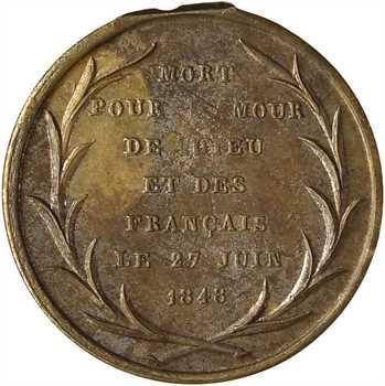 IIe République, mort de Denys Affre, archevêque de Paris, 1848
