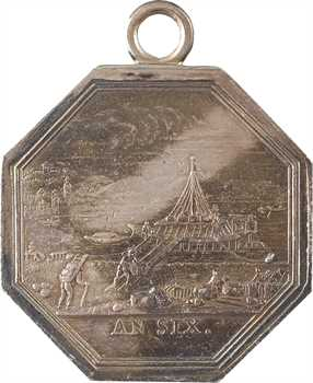 Directoire, les coches de la Haute Seine, An 6 (1798) Paris
