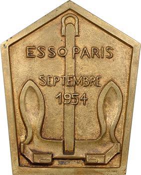 IVe République, Compagnie Esso, Sirène, chez Susse Frères, fondeurs, par Secchioli, 1954