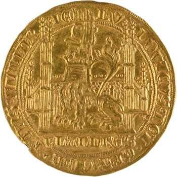 Flandre (comté de), Louis de Male, lion heaumé, s.d. Gand