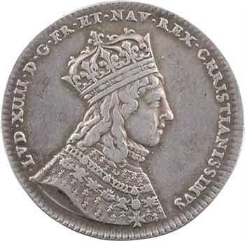 Louis XIV, sacre à Reims le 7 juin 1654, argent, 1654 Paris