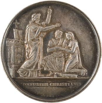 IIIe République, médaille de mariage, par Gayrard, 1867