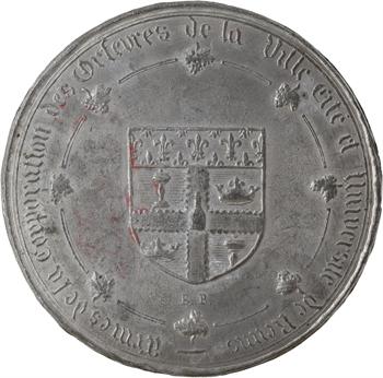 IIe République, corporation des orfèvres de Reims, 1851 Reims