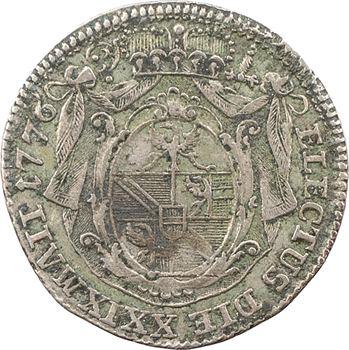 Italie, Trente (Principauté de), Pietro Vigilio Thun, denier, 1776 Milan