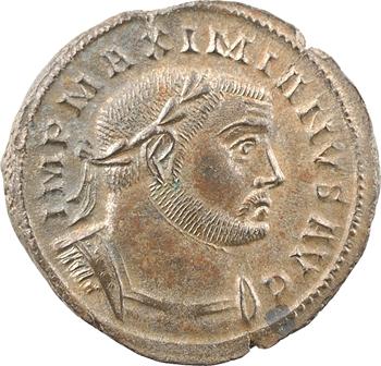 Maximien Hercule, follis, Lyon, 302-304