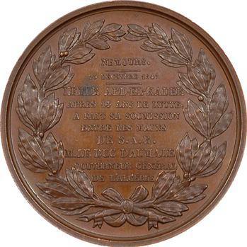 Algérie, le duc d'Aumale, soumission d'Abd-el-Kader 1847