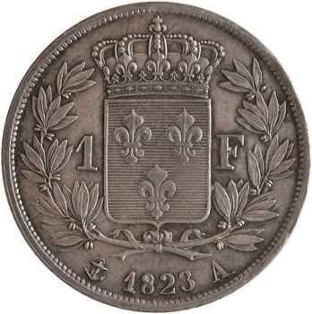 Louis XVIII, 1 franc, 1823 Paris