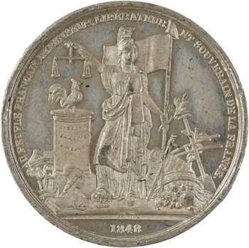 IIe République, commémoration des Journées de Février 1848, Paris