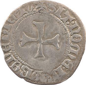 Bretagne (duché de), Jean V, blanc à la targe, s.d. (après 1436) Vannes
