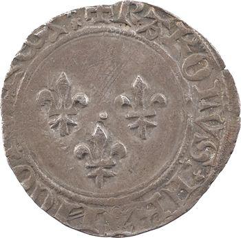Charles VII, blanc aux trois lis 1re émission, Limoges ?