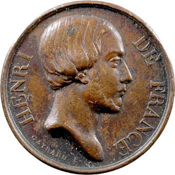 Henri V, médaillette