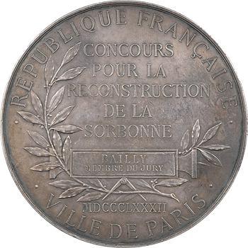 Daniel-Dupuis (J.-B.) : concours pour la reconstruction de la Sorbonne, 1882 Paris