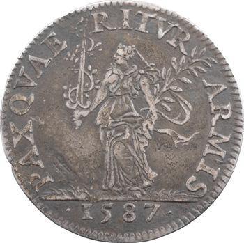 Henri III, Conseil du Roi, 1587 Paris