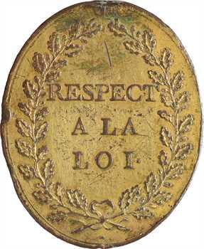 Convention, insigne d'administrateur de département, s.d. (1793)