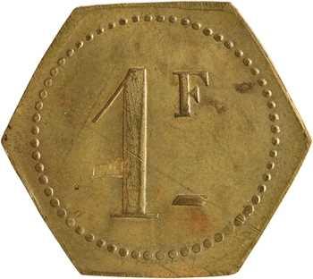 Régiments coloniaux, 1 franc, 42e R.T.M., s.d