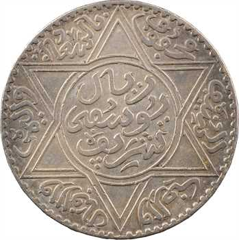 Maroc, Moulay Yussef I, 10 dirhams, AH 1331 (1913) Paris