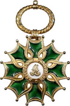 France, IIIe République, Grand Croix de Chevalier des Arts et des Lettres