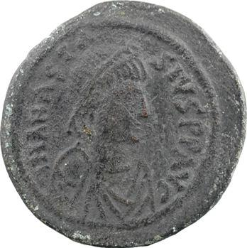 Anastase, follis, Constantinople, 4e officine, 491-518