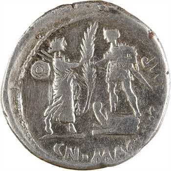 Pompée le Jeune, denier, Cordoue, 46-45 av. J.-C
