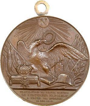 Retour des cendres, médaille par Borrel, 1841