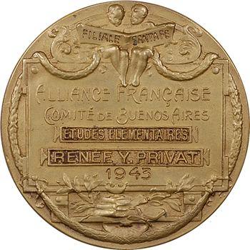 Argentine, comité de Buenos Aires de l'Alliance Française, par Dropsy (?), 1943