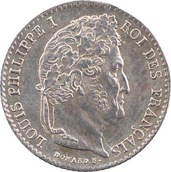 Louis-Philippe Ier, 1/4 franc, 1838 Paris