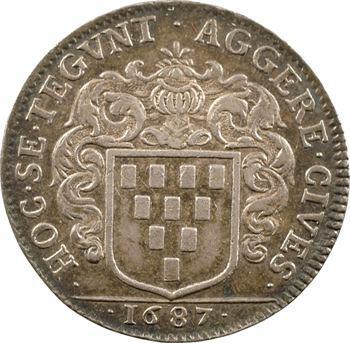 Bretagne, Nantes (mairie de), Guillaume de Lisle, maire, 1687