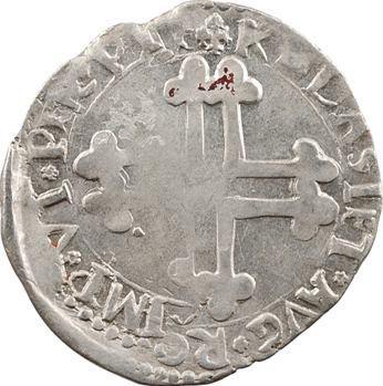 Savoie (duché de), Emmanuel-Philibert, pièce de 2 gros, 1er type, s.d. Chambéry