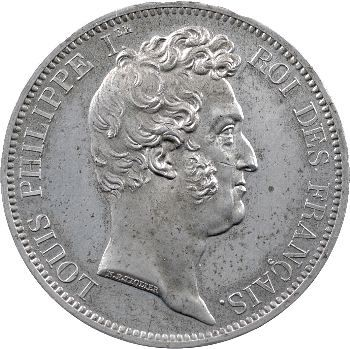 Louis-Philippe Ier, épreuve au module de 5 francs, par Tiolier, s.d. (c.1830) Paris