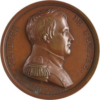 Premier Empire, défense de l'Empire, départ de l'Empereur le 25 janvier, 1814 Paris