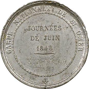 IIe République, les Journées de Juin 1848, St-Omer, 1848 Paris