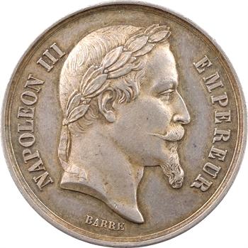 Cochinchine, Exposition agricole et industrielle, médaille d'argent de 3e classe, 1867 Paris