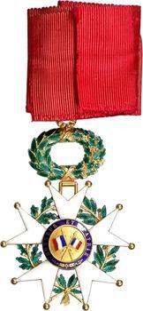 France, IVe République, Légion d'Honneur, bijou de Commandeur en or