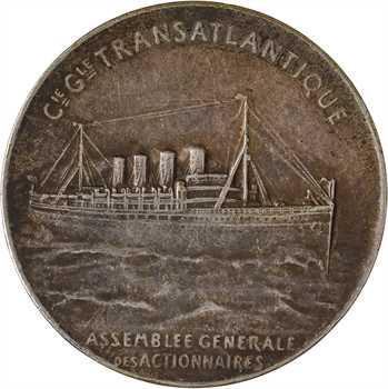 Compagnie Générale Transatlantique (C.G.T.), assemblée générale des actionnaires, par Patriarche, s.d. Paris