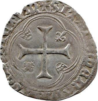 Charles VIII, Blanc à la couronne, Troyes