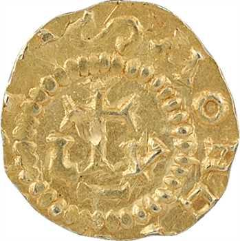 Bourgogne, Lyon, trémissis, Beatus (?) monétaire, c.640-660